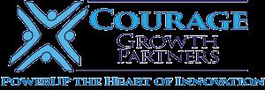 home page logo courage-powerupheartofinnovation