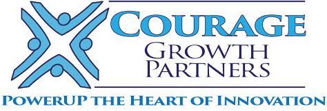 Courage Growth Partners: Innovation Leadership Retina Logo