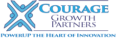 Courage Growth Partners: Innovation Leadership Logo